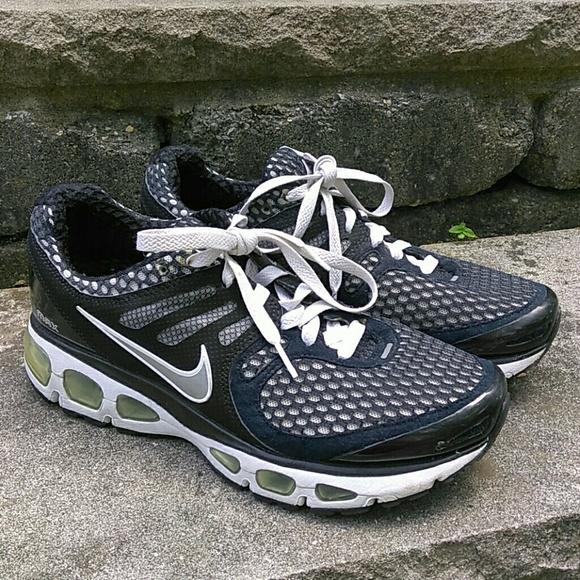info for c486c 2b2f9 Nike Air Tailwind 2 Black Air Max Sneakers Men's 9